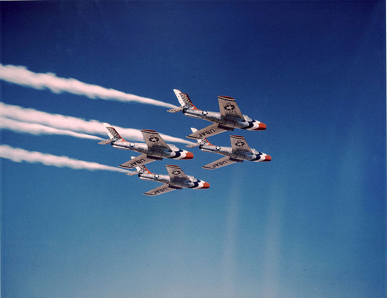Thunderbirds F-84