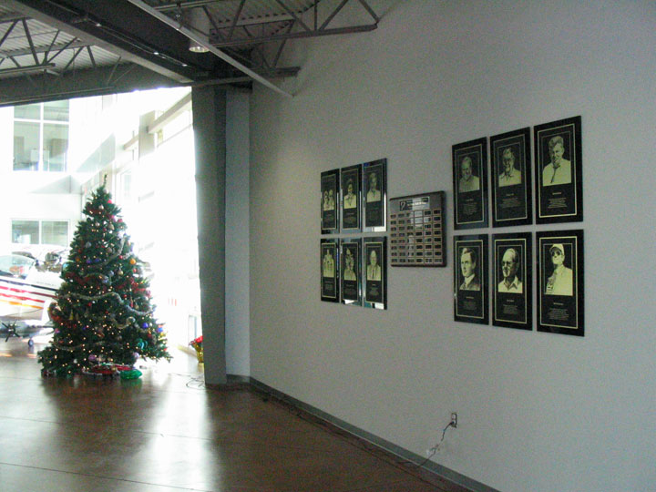 HOF Plaques at Frontiers of Flight 2